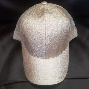 CC Beanie Messy Bun Hat